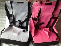 Travel booster seat. Happy to sell 1 or 2.