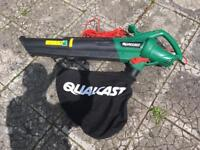 Qualcast leaf collector blower electric