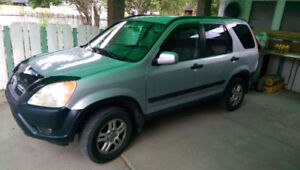 Manual 2002 Honda CR-V SUV with Mechanical Inspection
