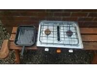 Gas cooker and grill campervan caravan vw