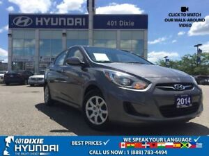 2014 Hyundai Accent GL| 1 OWNER|KEYLESS ENTRY|CRUISE CONTROL|