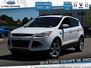 2014 Ford Escape SE*AWD*CAMERA*CRUISE* *A/C*SIÈGES CHAUFFANTS**