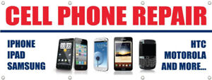We repair cell phones on site,1hour service for iphone & samsung