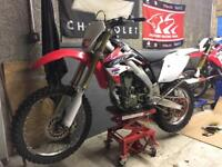 Honda CRF250X CRF250 CRF 250 X enduro road legal motocross