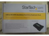 Startech Hard drive Duplicator