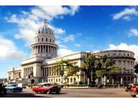 2 x Return flights | Amsterdam, The Netherlands - Havana , Cuba | 29.11 - 06.12 | £800 for both!