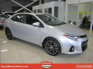 Toyota Corolla S + Toit + Mags+ Cuir 2014
