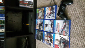 Ps4 with 8 games $400