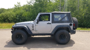 2014 Jeep 35s with 4.56 gears can offer financing