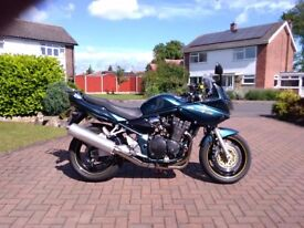 Suzuki Bandit GSF1200S, excellent condition. l loads of extras. A gift at £2499