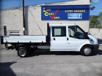 Ford Transit 350 Crew Cab 1 Stop ALLOY 18000 MILES