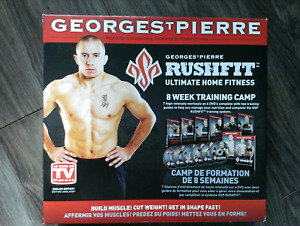 Georges St.Pierre RUSHFIT ultimate home fitness training system