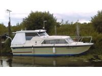 25 ft birchwood cabin cruiser boat