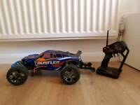 Traxxas Rustler Vxl brushless Rc Car truck truggy not hpi nitro