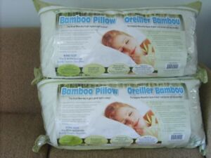 KING SIZE BAMBOO PILLOWS...CRESTON