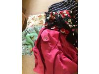 Job lot of clothes plus size size 18- 22 jacket, dress, tops