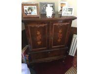 Antique oriental style cabinet