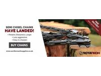 Rotatech Chainsaw Chains To Fit Stihl, Husqvarna & The Most Popular Chainsaw Brands!