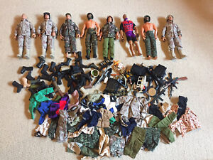 G.I Joe & army figures with accessories