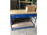 Draper steel work bench
