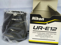 NIKON UR-E12 STEP DOWN RING LENS ADAPTOR