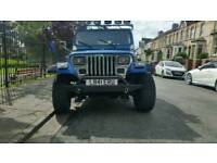 Jeep wrangler 2.5 yj 4x4 soft top off road