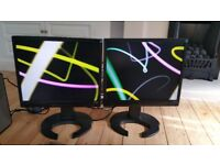 X2 Computer Monitors - Iiyama Pro Lite B1902S