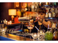 Cocktail barman and full time/ part time bar staff