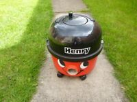 Henry numatic vacumn cleaner spares or repair wont switch on