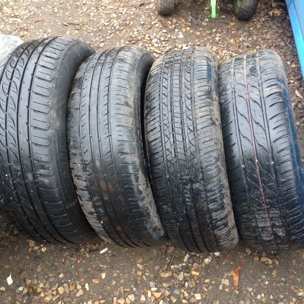 Tyres x4 185/65/15 freein Norwich, NorfolkGumtree - Tyres i have 4 tyres 1 on wheel 185/65/15 they have good tread and are free i