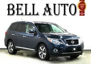 2013 Nissan Pathfinder PLATINUM PKG NAVIGATION 360 CAMERA 7 PASS