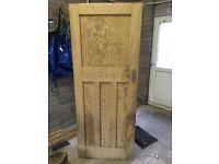 Original 1930s Door