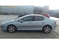 05 PEUGEOT 407 SV HDI NEW M.O.T SUPERB CONDITION