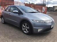 2006 (06) Honda Civic 1.8 Vtec Auto / 59K FHSH / 1 Lady owner from new / 12 Months MOT