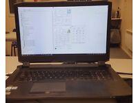 DESKTOP REPLACEMENT LAPTOP/ i7-6700/ GTX 980 G-SYNC/ 16 GB RAM/ CLEVO P775DM1-G/ 17inch 100hz Screen