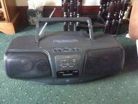 Cd/tape /radio player