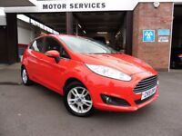 Ford Fiesta ZETEC (red) 2015