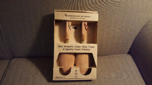 Red Aromatic Cedar Shoe Trees - Brand New - Never Used
