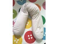 Theraline Pregnancy Pillow - Ecru