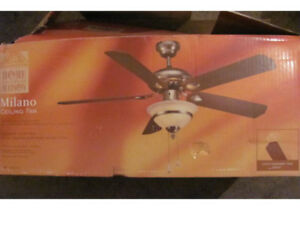 "Ceiling Fan 48"" Home Collection (Milano model)"