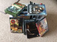 Collection of 25 DVD's 50p each or offers for the lot.