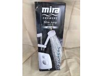 Brand New Mira Jump 8.5KW Multi Fit Electric shower White / Chrome