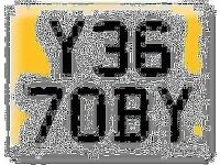 Y367 OBY Scooby 7OBY Toby OBI Preferential Personal number plate Cherished registration on Retention