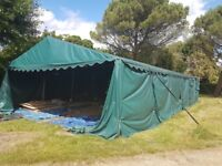 Large 28m x 7 m Marquee
