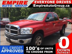 2008 DODGE RAM PICKUP 1500 LARAMIE * 4WD * CARGO AREA COVER