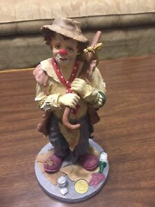 Hobo Clown Collectable Figurine