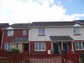 Well presented two bedroomed house in Heathfield near Newton Abbot. Available early August