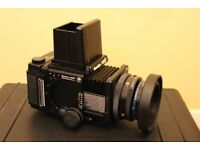 Mamiya RZ67 camera plus lenses, spare backs and peli case. Please make an offer