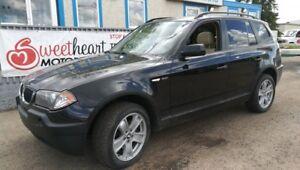 2004 BMW X3 3.0i      1 YEAR FREE WARRANTY