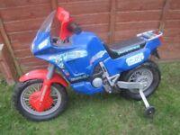 Kids electric transformers motorbike (project)
